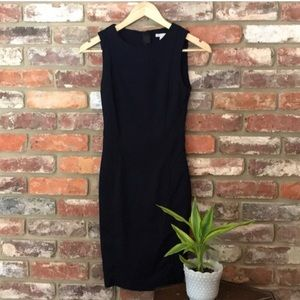 H&M Fitted Black Classic Sleeveless Dress